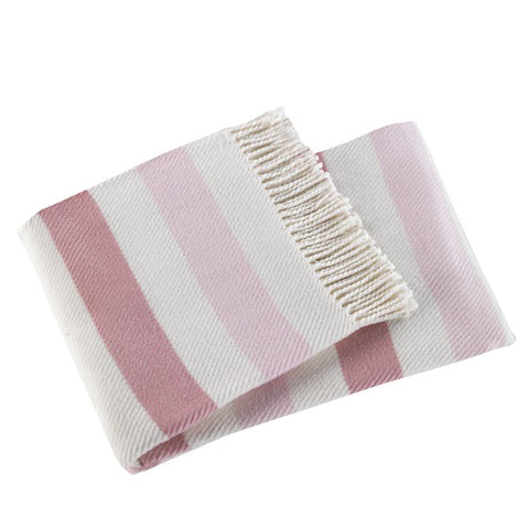 Sweet Stripe Baby Throw [more colors]