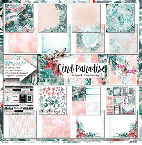 Find Paradise - Paper Collection Pack