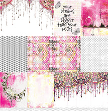 "Load image into Gallery viewer, Imagine - 12""x12"" Scrapbooking Paper"