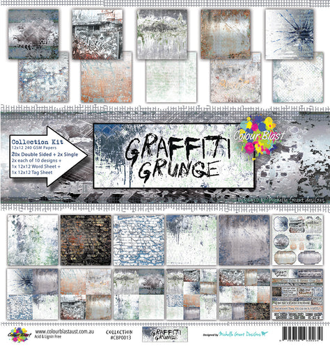 Graffiti Grunge - Paper Collection Pack
