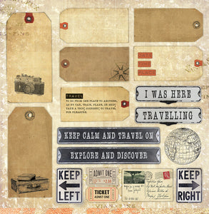 Destination Anywhere - Paper Collection Pack