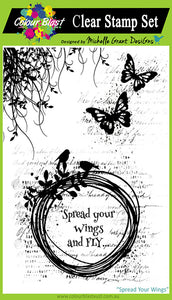 Spread Your Wings - Clear Stamp Set