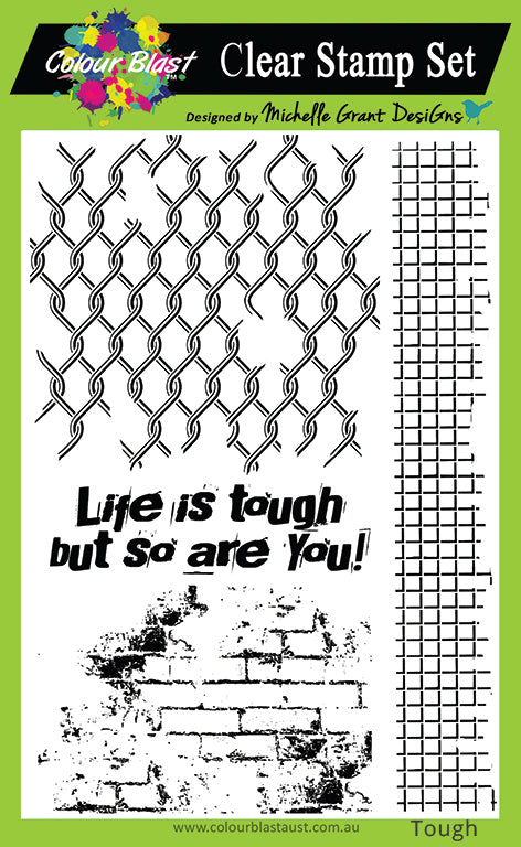 Life Is Tough - Clear Stamp Set