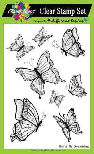 Butterfly Dreaming - Clear Stamp Set