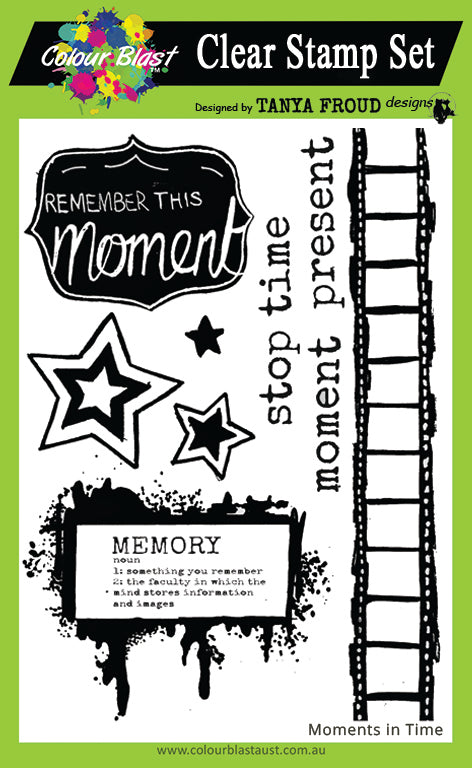 Moments In Time - Clear Stamp Set