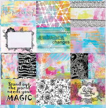 "Load image into Gallery viewer, Inspirations - 12""x12"" Scrapbooking Paper"