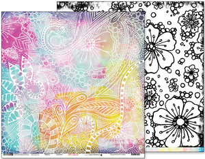 "Bloom - 12""x12"" Scrapbooking Paper"