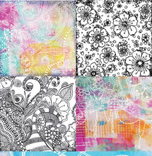 "Load image into Gallery viewer, Embrace - 12""x12"" Scrapbooking Paper"