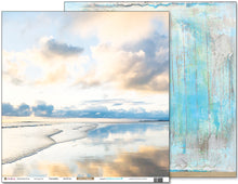 "Load image into Gallery viewer, Tranquility - 12""x12"" Scrapbooking Paper"