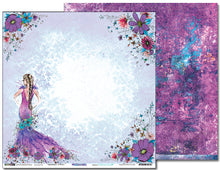"Load image into Gallery viewer, Fashionista - 12""x12"" Scrapbooking Paper"