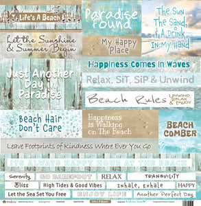 Life's A Beach - Paper Collection Pack