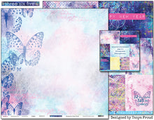 "Load image into Gallery viewer, Happy - 12""x12"" Scrapbooking Paper"
