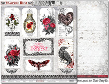 "Load image into Gallery viewer, Poison - 12""x12"" Scrapbooking Paper"