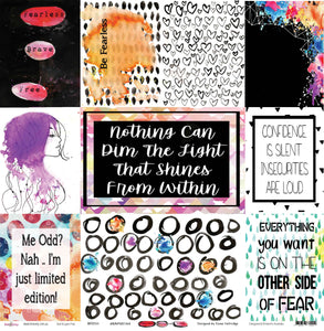 Fearless Brave & Free - Paper Collection Pack