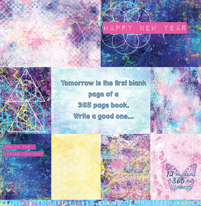 "Happy - 12""x12"" Scrapbooking Paper"