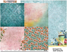 "Load image into Gallery viewer, Patchwork - 12""x12"" Scrapbooking Paper"