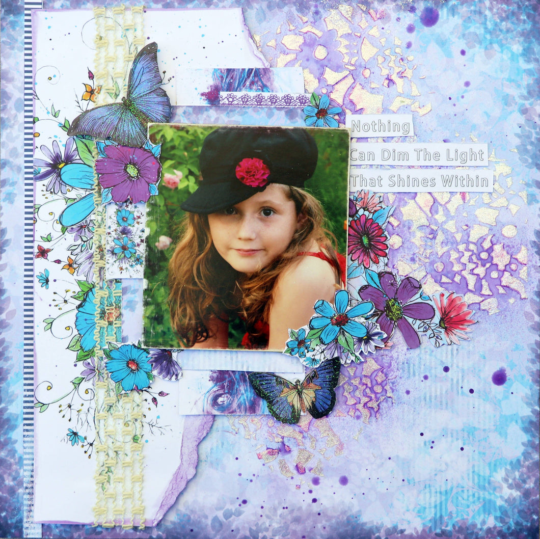 Lavender Delight Multiple Layout Kit
