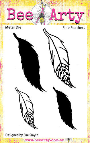 Fine Feathers - Metal Die
