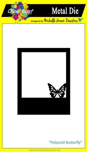 Polaroid Butterfly - Metal Die