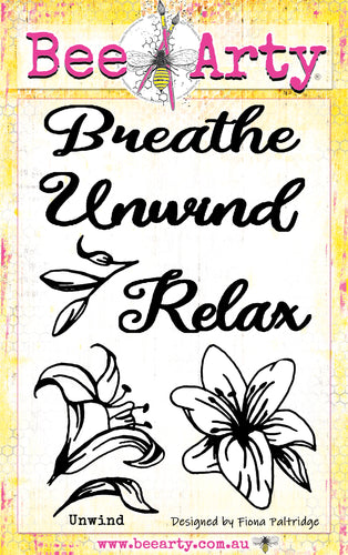Unwind - Clear Stamp Set
