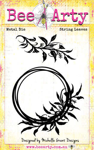 String Leaves - Metal Die