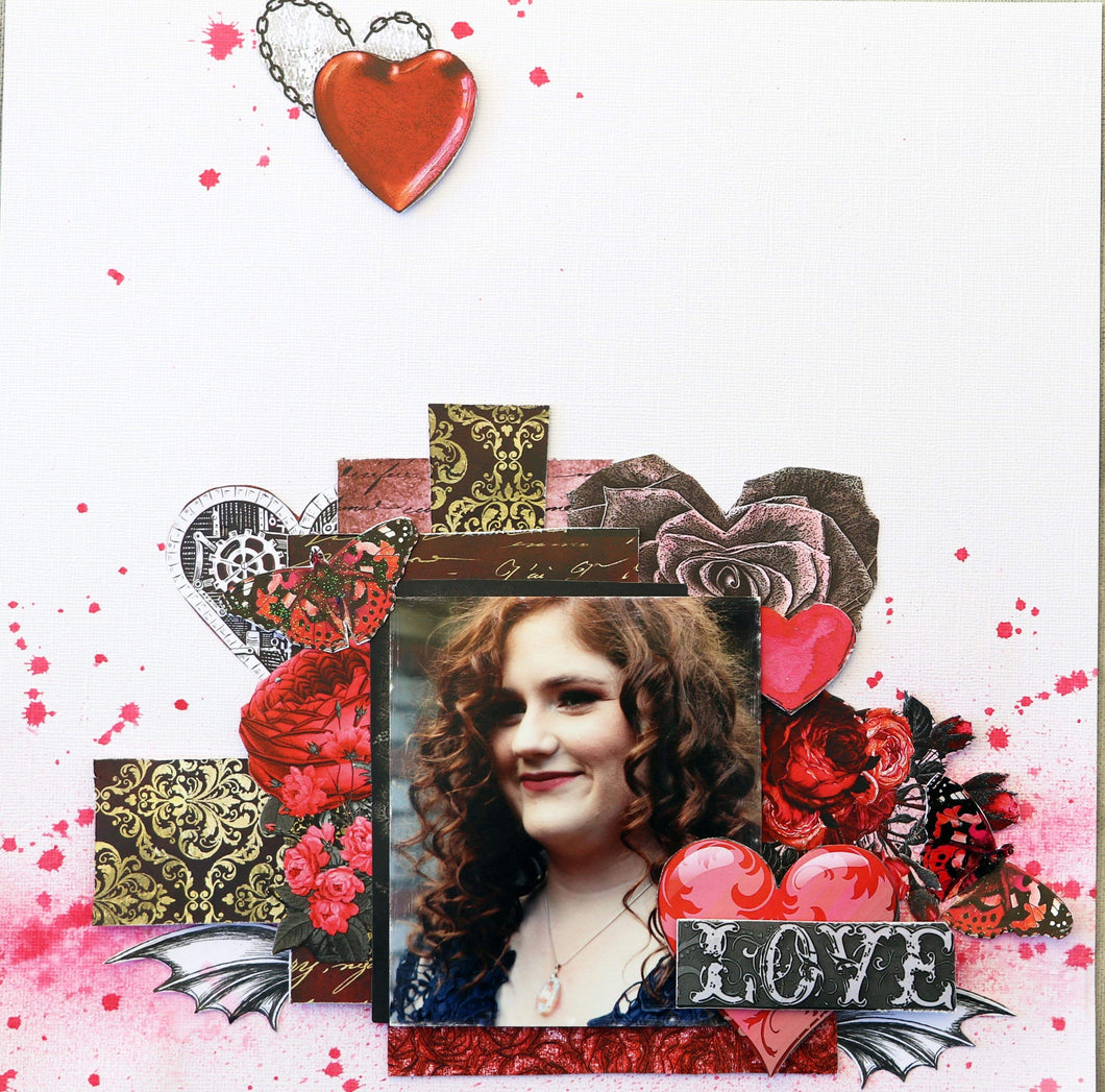Love Single Layout by Sue Smyth