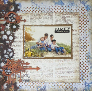 Family Means Love Page Kit