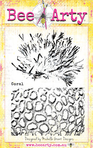 Coral - Clear Stamp Set