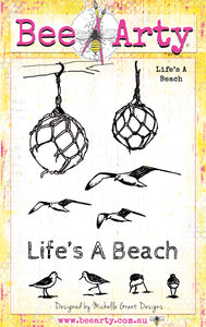 Life's A Beach - Clear Stamp Set