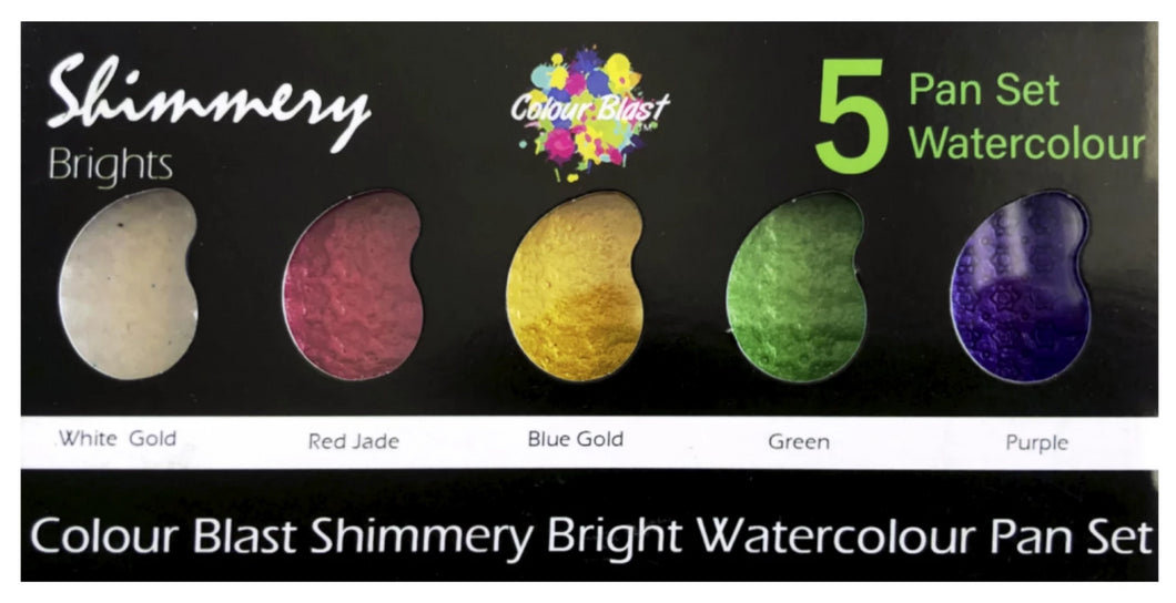 Shimmery Paint Palettes