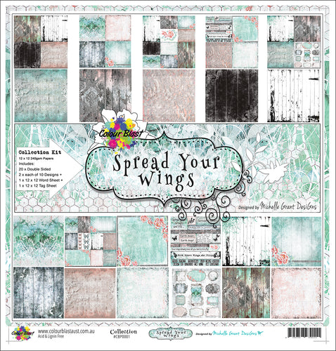 Spread Your Wings - Paper Collection Pack