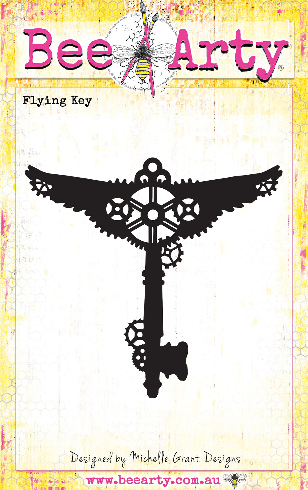 Flying Key - Metal Die