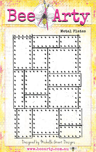Metal Plates - Clear Stamp Set