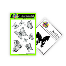 Load image into Gallery viewer, Beautiful Butterflies - Stamp/Die Bundle