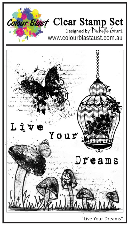 Live Your Dream- Clear Stamp Set
