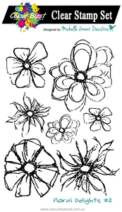 Floral Delights 2 - Clear Stamp Set