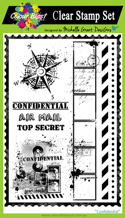 Confidential - Clear Stamp Set