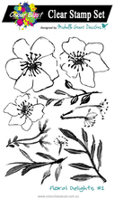 Load image into Gallery viewer, Floral Delights 1 - Clear Stamp Set