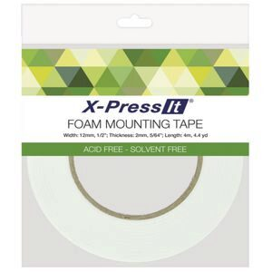 X-Press It Foam Tape 12mm x 4m