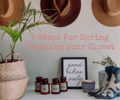 5 Steps for Spring-Cleaning Your Closet (So You Can Go Shopping)
