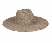 Lack of Color Sunnydip Fray Fedora