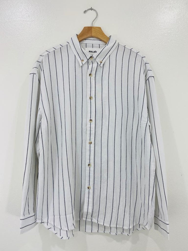 Rollas Slouch Stripe Shirt