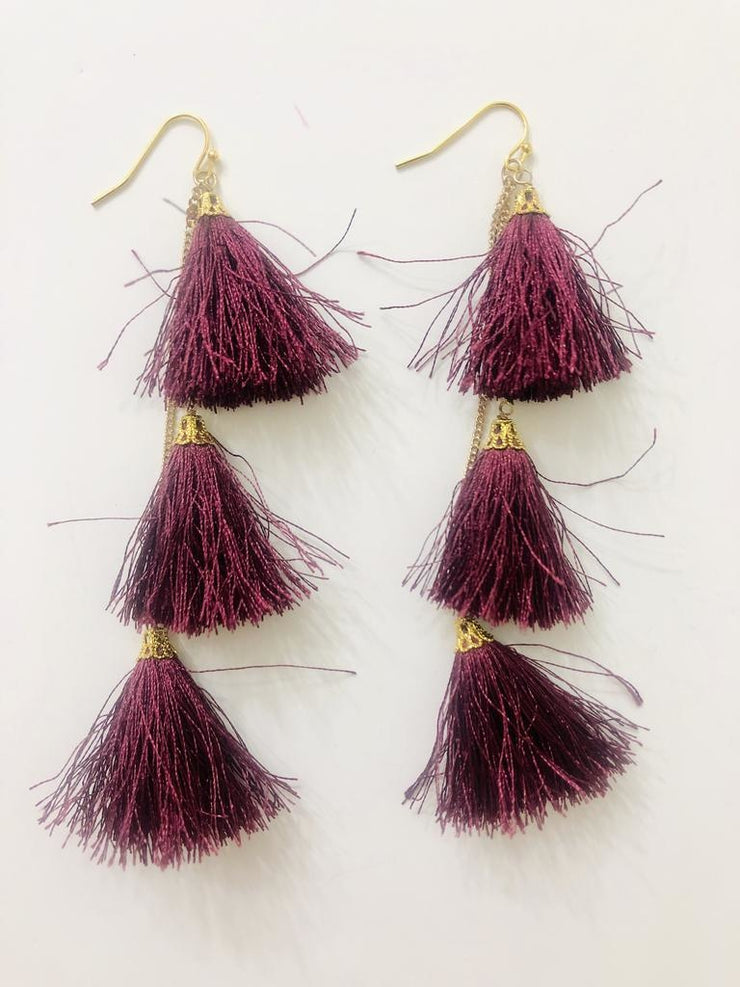 Tribe Fiesta Tassel Earrings