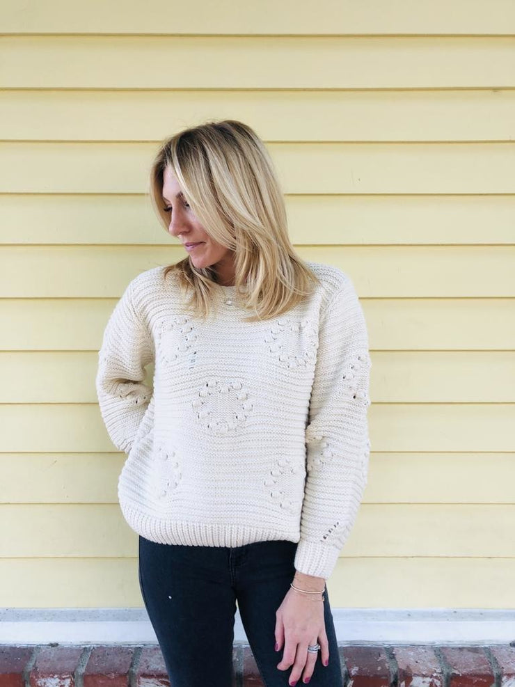 Two Hearts Sweater