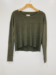 Chaser Cropped Long Sleeve
