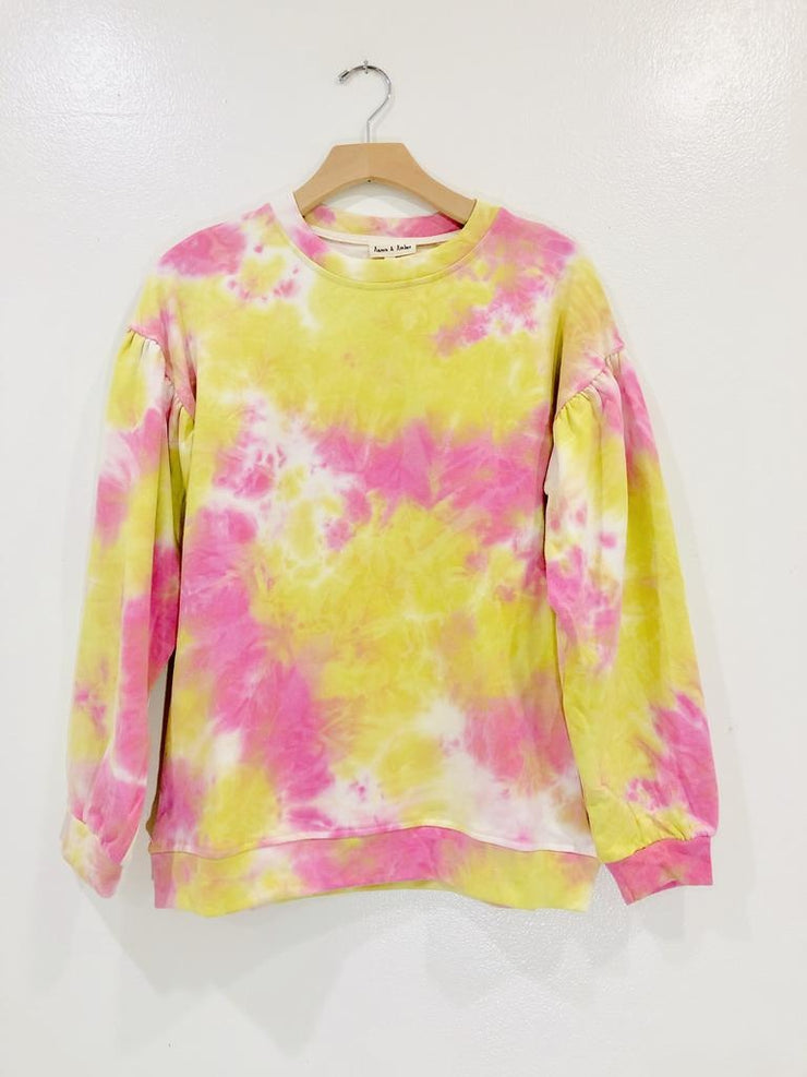 Seeking Sunshine Tie Dye Sweater