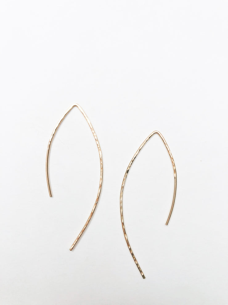 Tansy + Birch Open Arc Hoops