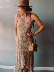 Honey Bae Strapless Dress