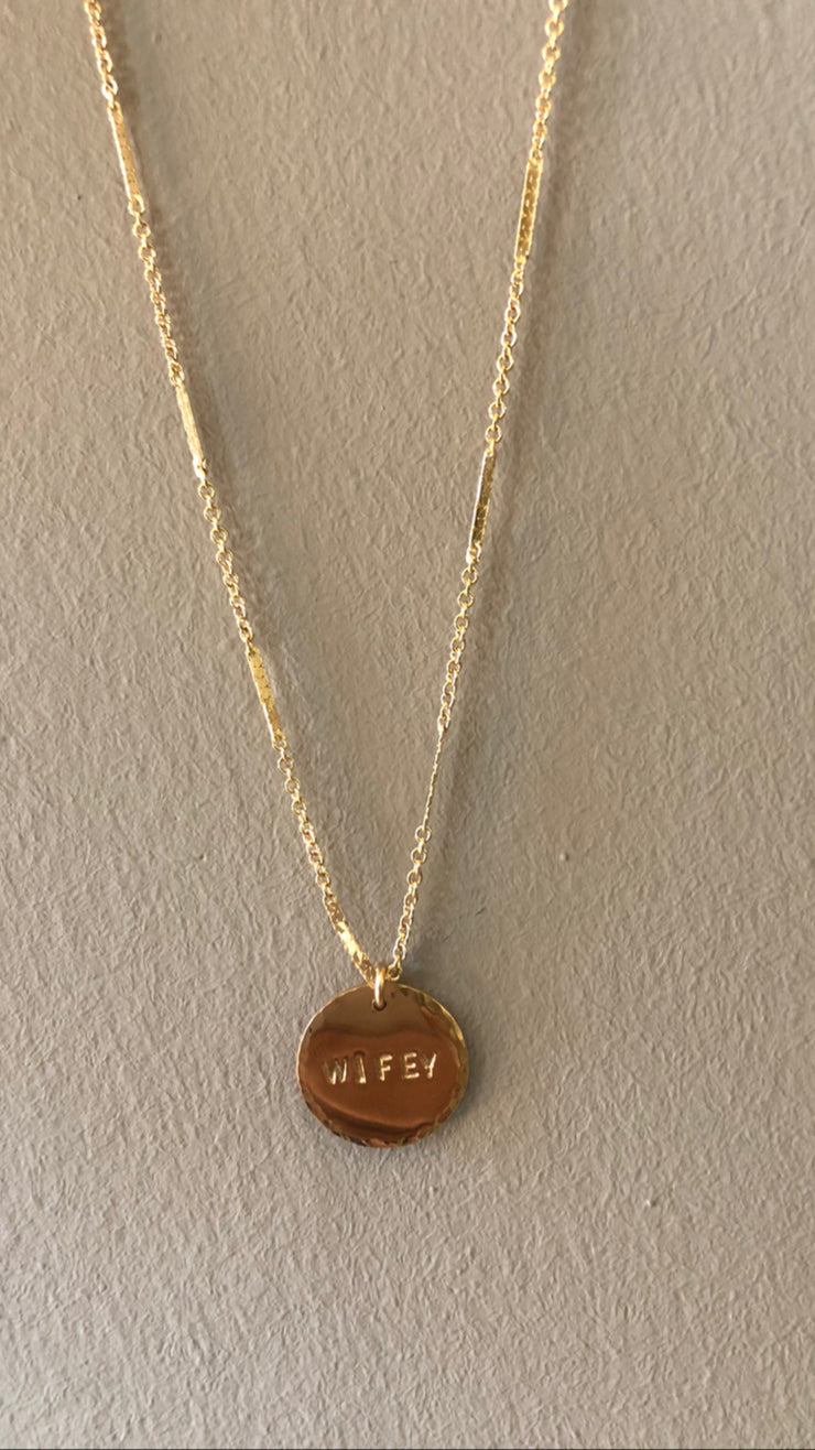 Wifey Necklace