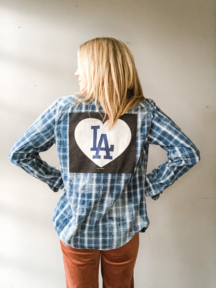 Dodgers Vintage Flannel - LA Love